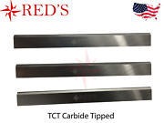 8 X 5/8 X 1/8 Tct Carbide Planer Jointer Knives Blades Delta, Powermatic, Jet