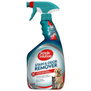 Pet Stain Odor Remover + 2x Pro-bacteria Enzymatic Formula 32 Oz Simple Solution