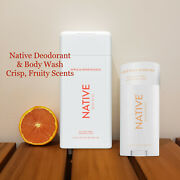 Native Deodorant And Body Wash Amazing Scents Natural And Clean