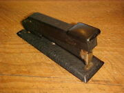 Vintage Bostitch Crinkle Black Finish Stapler Working Condition Free Shipping