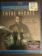 Total Recall - Extended Director's Cut Blu-ray/dvd, 2012, 3-disc Set Sealed