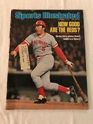 Vintage Sports Illustrated-976 World Series Johnny Bench Hero Of Win Over Yanks