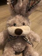 Toy Bunny Rabbit Tan Plaid Andrsquos Colorsears And Bow Tie Plush 10andrdquo Easter