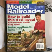 Model Railroader Magazines 2006 Lot 12 Issues Complete Year Kalmbach Publishing