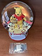 New Disney Jim Shore Silly Old Bear' Winnie The Pooh Butterfly Globe engravable
