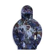 Ds-kith For Advisory Board Crystals Abc Hoodie Storm Dye - Size L In Hand