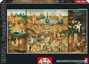 9000 Pcs Jigsaw Puzzle Bosch - The Garden Of Earthly Delights Art - Educa