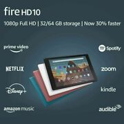 New Fire Hd 10 Tablet 10.1 Display 32 Gb 9th Generation Choose Color.