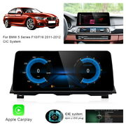 12.3 Android Car Gps Navigation Video Wireless Carplay For Bmw 5 Series F10 F18