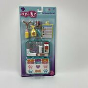 My Life As Pet Rescue Play Set 19 Pc Play Set Medical Case Clipboard Vitamins +