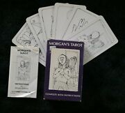 Extremely Rare Orig. 1970 Morgan Robbins And039who Am Iand039 Tarot Card Deck W/pamphletandnbsp