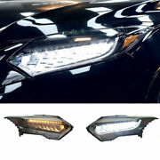For Honda Hr-v 15-18 Led Headlights Projector Full Led Drl Dynamic Turn Signal