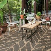 The Curated Nomad Claremont Indoor/ Outdoor Abstract Chevron