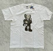 Sold Out Kaws X Uniqlo Ut Clean Slate Tee White Us M 100 Authentic New With Tag