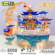 Building Block Chinese Style Moon Palace Architectural Nano Diamond Puzzle Model
