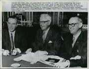 1966 Press Photo Executives Attend Board Of Governors Meeting In New York