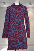 Fabulous Marc Jacobs Duster Coat Abstract Pattern - Size Small