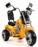 Kids Toy Chopper Trike Motorcycle Electric 12v Battery Ultimate Fun Child Memory