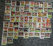 Full Collection 70 Pcs Dandy Cin Cin Chewing Gum Wrappers. Football Stars.