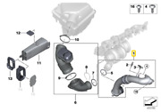 Oem Genuine Bmw F20 F22 F23 F30 F32 F33 Charge Air Induction Tract 13718601684