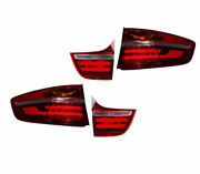 New Genuine Bmw X6 E71 E72 Rear Right Left Trunk Lid And Tail Light Set Oem