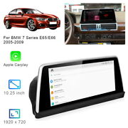8-core Android 10 Car Gps Navigation Video Wireless Carplay For Bmw 7 Series E65