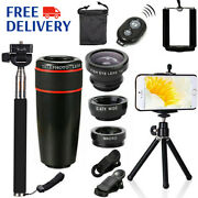 All In1 Accessories Phone Camera 8x Lens Top Travel Kit For Smartphone Cellphone