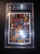 Kobe Bryant 1997-98 Topps Minted In Springfield 171 Sp Parallel 2nd Year Bgs 9
