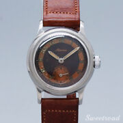 Alpina Original Gray Dial Vintage Watches 1940s Shipping From Japan 20210207n