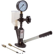Fuel Pressure Tester Diesel Injector Nozzle Pop Tester With Dual Scale Gauge Us