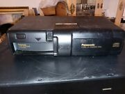 Panasonic 6 Cd Disc Changer Ca-mp60ex Mash For Car Audio Used Tested