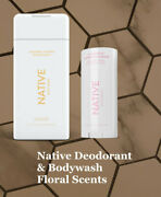 Native Deodorant And Body Wash Fabulous Floral Scents Natural And Clean