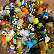 Random 25x Fisher Price Little People Figures Worker And Farm Barn Animals Toys