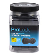 Prolock 3/4 In. Push-to-connect Plastic Coupling Fitting Pro Pack 6-pack