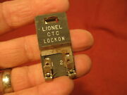 Lionel Ctc Power Lock On Accessory For O And 0-27 Gauge Tubular Train Track Set