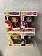 Funko Pop Lot Of 4 Red Sonja 158 Raven 603madara 722silver Age All Might 608