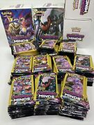 Pokemon Unified Minds Booster Pack Lot 272 Packs 3 Card Pack Brand New Rare