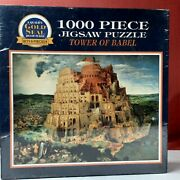 A Quality Gold Seal Tower Of Babel 1000 Piece, Jigsaw Puzzle
