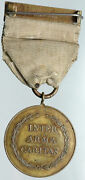1918 England Red Cross Army Military Ribbon World War I Wwi Antique Medal I88482
