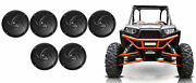 6 Rockville Rsm65b 6.5 960w Waterproof Shallow Slim Speakers 4 Rzr/atv/utv/cart