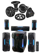 Kicker 41kms674c 6.75 400w Marine Component Speakers + Free Home Theater System