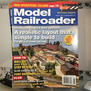 Model Railroader Magazines 2007 Lot 12 Issues Complete Year Kalmbach Publishing
