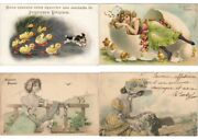 Easter Lot Of Embossed Artist Signed 400 Pc.pre-1930 W. Better Part I. L3112