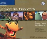 Inspired 3d Short Film Production By Cantor Jeremy Mixed Media Product Book The