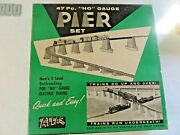 Vintage Atlas Piers, Girders, Ramp Supports And Tabs Ho Scale 70+ Pieces 12022