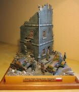 1/35 Diorama Going Down Swinging Warsaw Poland 1939free Shipping U.s.only