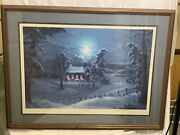 Jesse Barnes Church In The Wildwood 38/1500signedrarelimited Edition