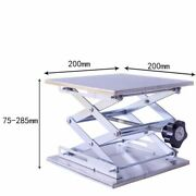 Router Lift Table Woodworking Engraving Lab Lifting 200mm Stainless Steel Bench