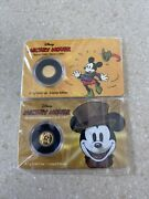 Mickey Mouse New Zealand Gold Coins 0.5g Each Collectibles Carol And Tailor