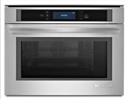 Jenn-air Euro-style Jbs7524bs 24 Single Steam Electric Oven In Stainless Steel